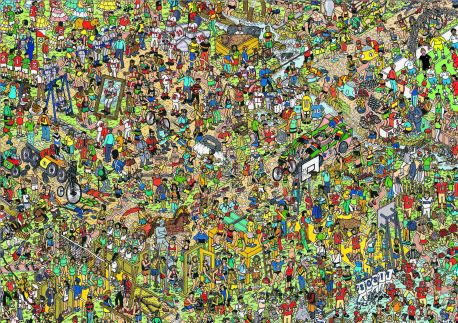 Wembley Legends Join Where's Wally? For 25th Anniversary
