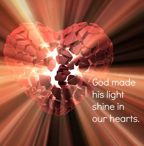 God's Light Breaking Free From Your Heart