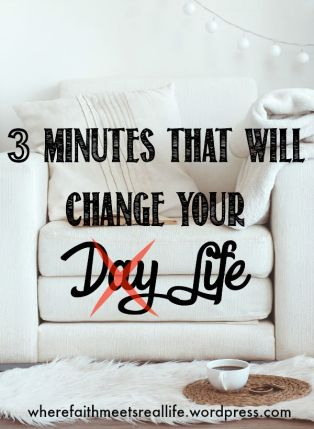 Stressed? Scattered? Crazy-Busy and Overwhelmed? Here's 3 minutes that will change all that.