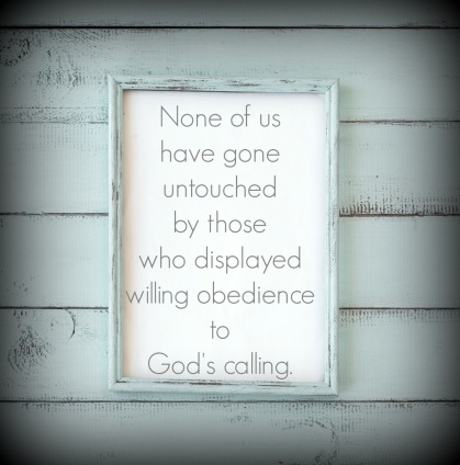 Surrender to willing obedience