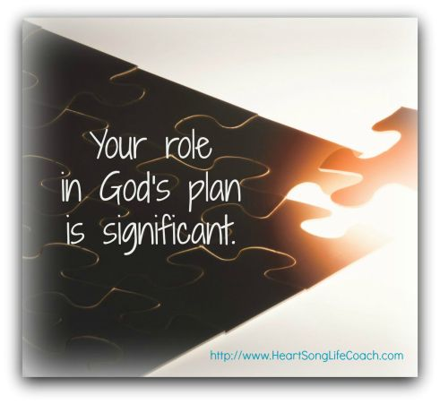 Your role is significant