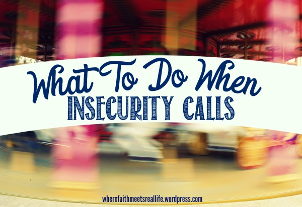 Insecurity can be beaten you know. And I've got 6 ways you can do it.